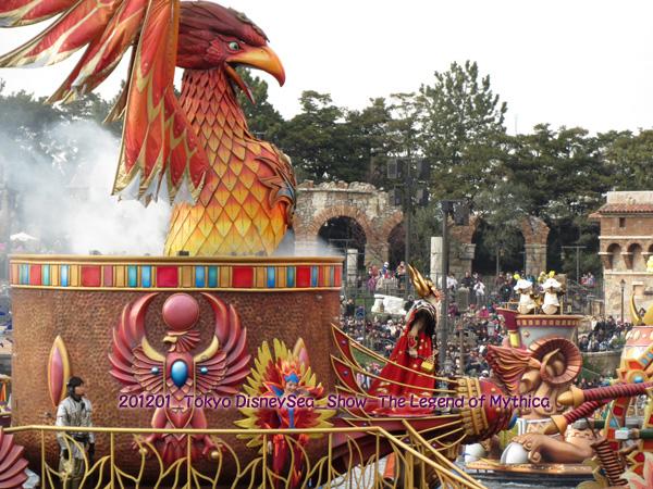 2013年1月 Tokyo Disney SEA_SHOW-Legend of Mythica
