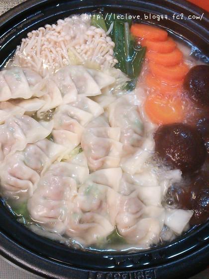 餃子鍋~!