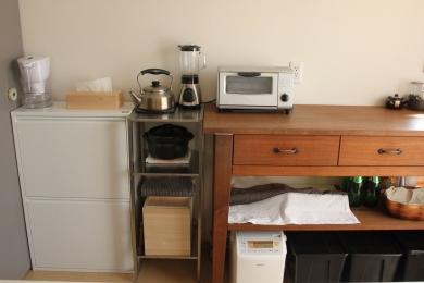 台所の新しい道具たち
