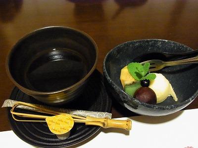 椿デザート
