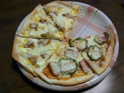 おうちのピザ