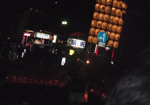 竿燈祭り 定位置