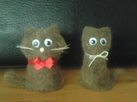 猫毛フェルト (1)