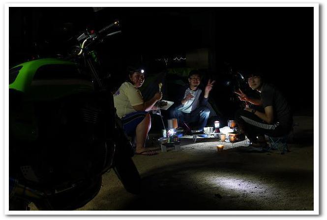 12.08.28~29 蒜山キャンプツーリング (21)