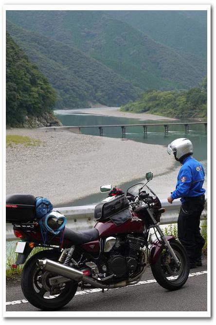 12.09.24~25 四万十川キャンプツーリング (17)