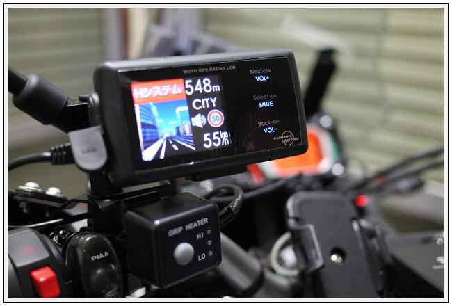 MOTO GPS RADAR LCD - 大和とツ...