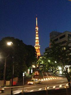 5月の東京タワー