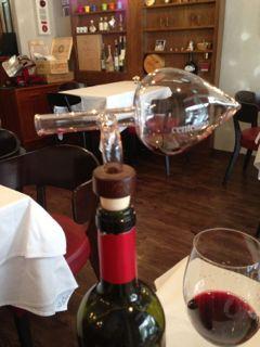 シックの赤ワイン
