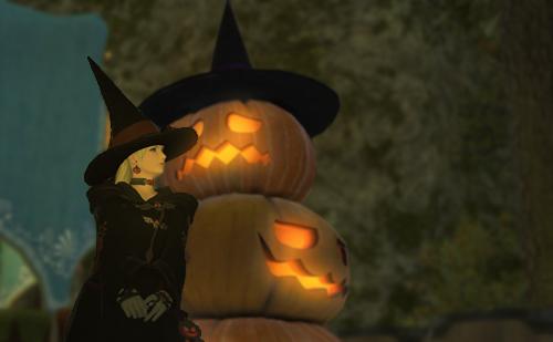 ハロウィン仕様のローブや帽子はなかなか良さそう