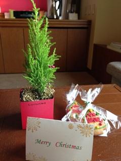 客室クリスマスプレゼント