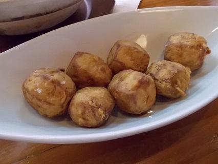 里芋の揚げ物