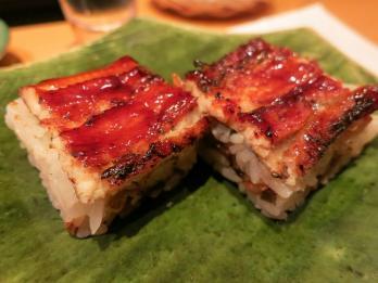 穴子押し寿司