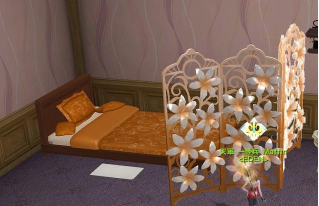 オレンジ家具