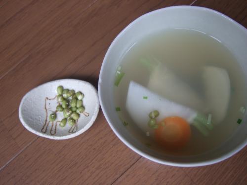 【縮小】緑豆スープ