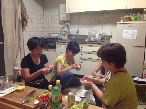【縮小】餃子作り