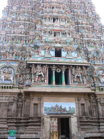 マドゥライの寺院