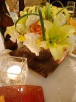 結婚式 披露宴会場 テーブル花