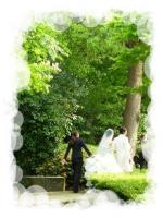 結婚式 後半 庭移動1