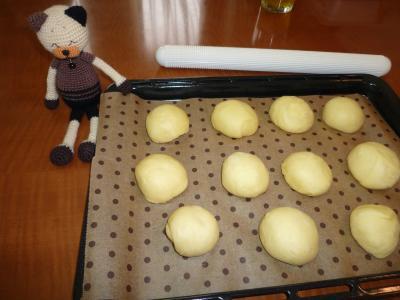 ベーコン・チーズパン