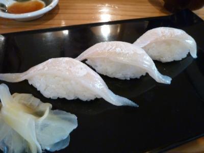 生アナゴ寿司