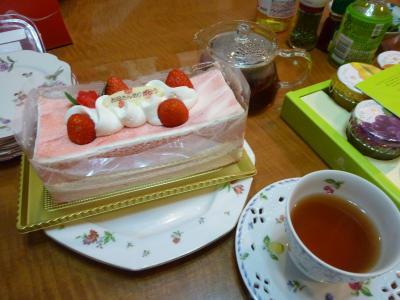 母の日のケーキ♪隆
