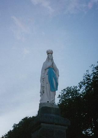 ルルドの聖母像