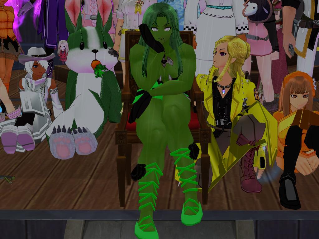 巨躯の極ファッションショー10