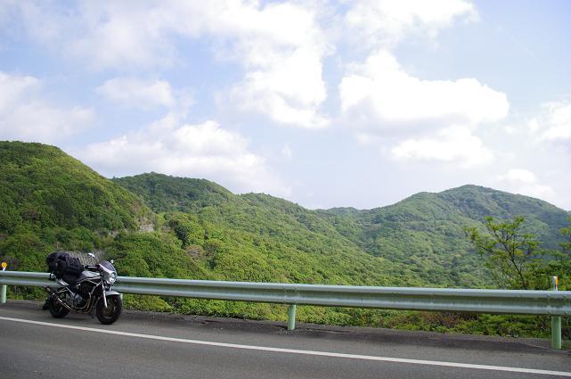 5山岳を貫く