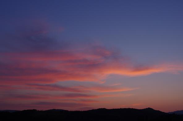 18日没の空