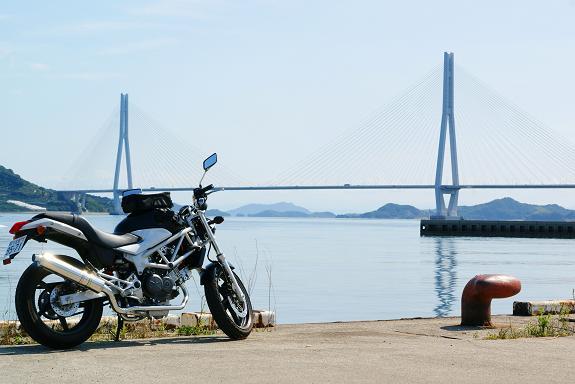 10多々羅大橋とVTR