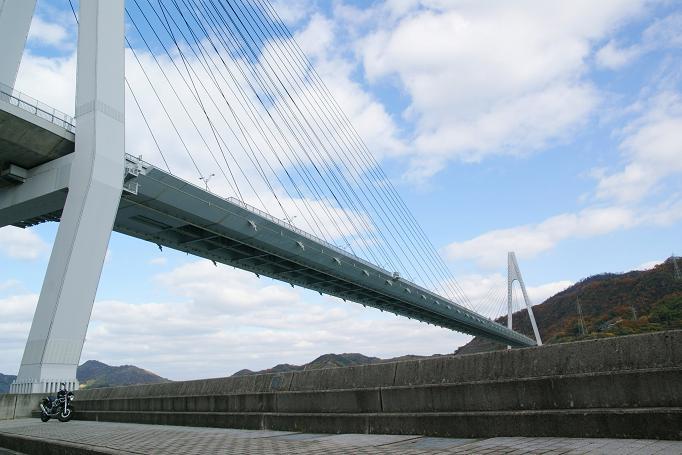 21生口島大橋とVTR