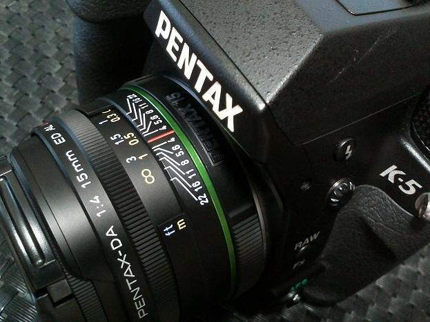 PENTAX smc PENTAX-DA15mmF4ED
