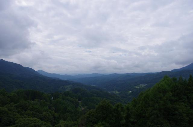 15伝説の谷からの景色