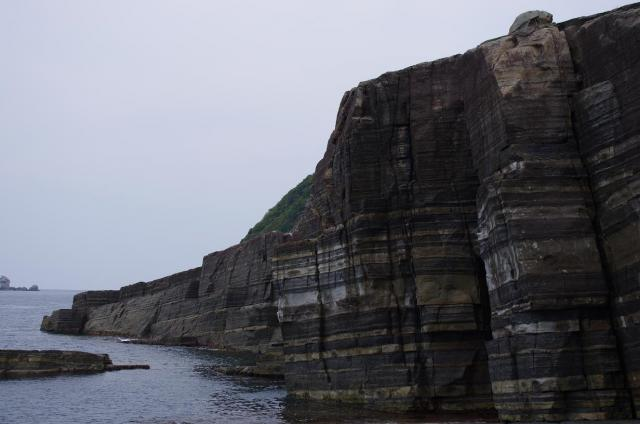 12ホルンフェルス断層