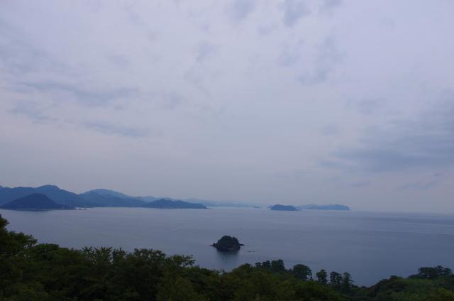 16笠山から日本海を見渡す(西側)