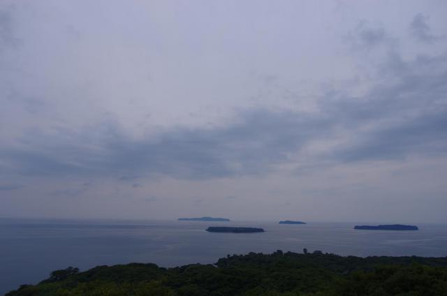 15笠山から日本海を見渡す(北側)