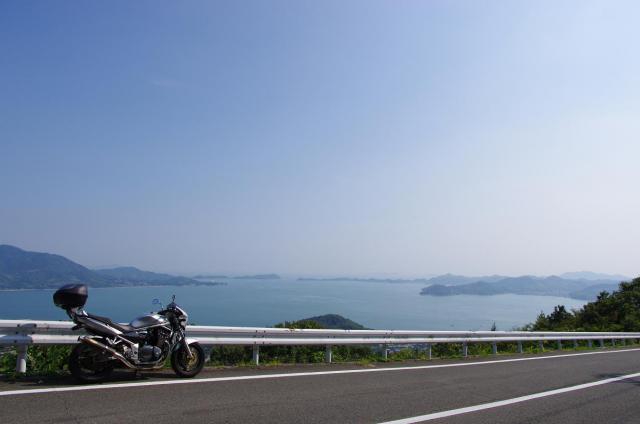 11観音山から島々を眺める