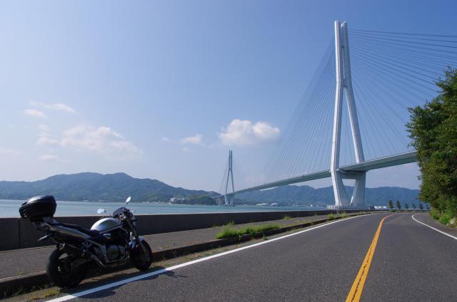 7多々羅大橋とBandit