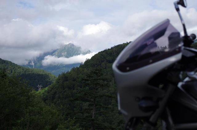 25穂高岳とBandit