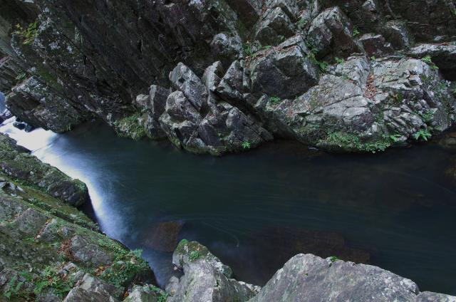 11渓谷の流れ