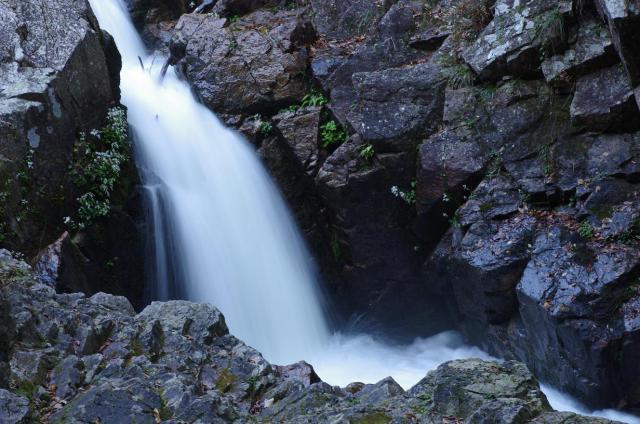 9勢いのある滝