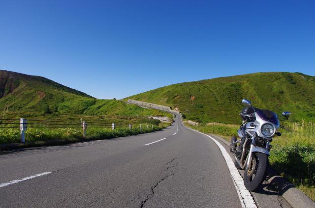 8山田峠にて