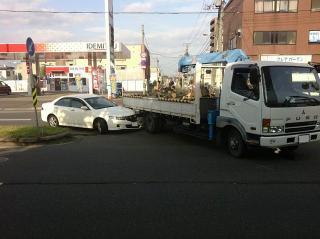 交通事故には気をつけよう