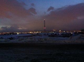 札幌の冬期限定裏夜景