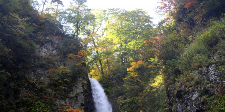 暗門の滝m