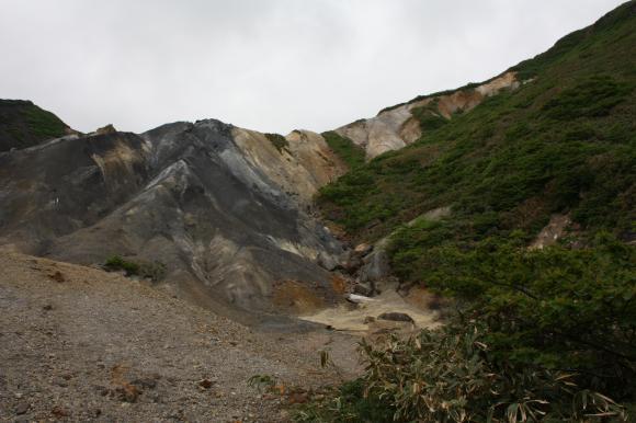 硫黄鉱山跡地