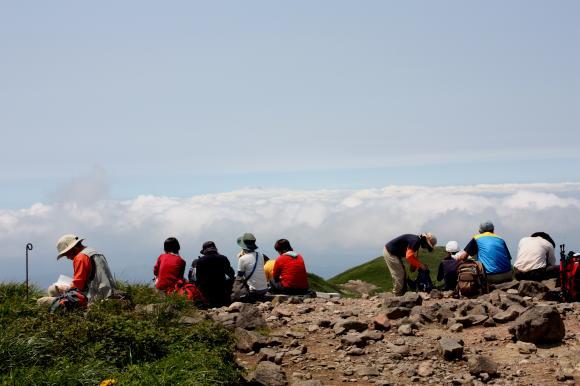 焼石山頂12