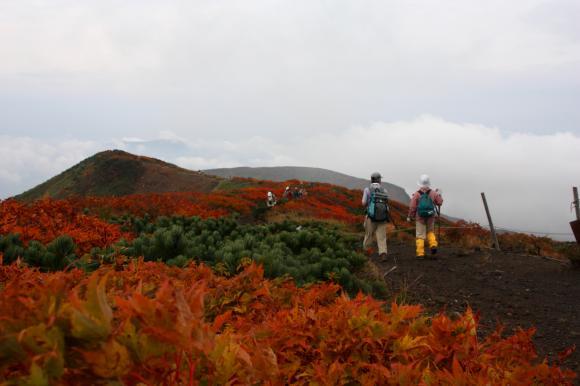 山頂稜線1