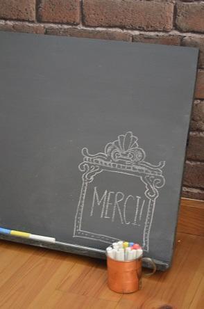 DIY 黒板 リメイク
