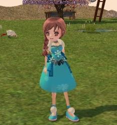 2014-02-05 雪花ドレス